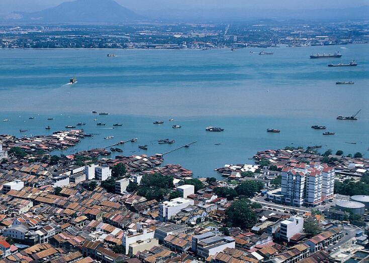 马来西亚槟城,东方花园和印度洋绿宝石